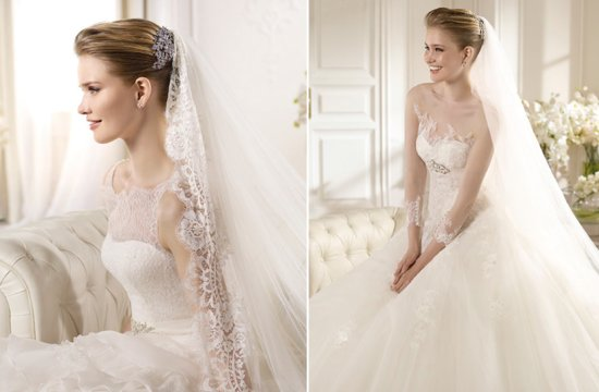 San Patrick Romantic Classic Wedding Dresses 2013 Bridal