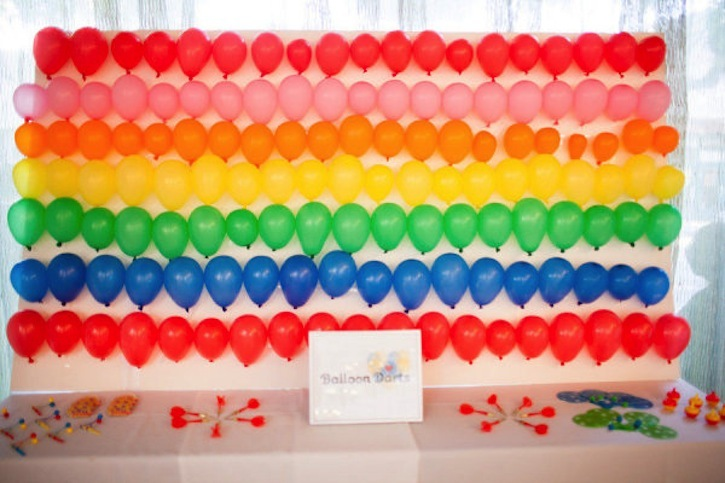 Rainbow-wedding-decor-balloon-darts.full