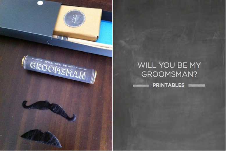 Unique ways to say Will You Be My Groomsman