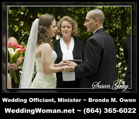 Brenda M. Owen Wedding Officiant Minister1 www.WeddingWoman.net