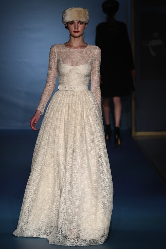 Luisa Beccaria Fall 2013 Wedding Dress Inspiration