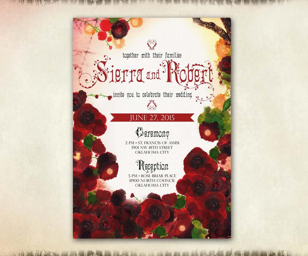 18 Roses INVITE 2
