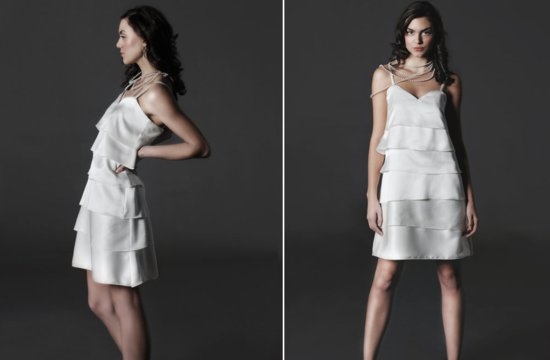 Flapper inspired silk LWD