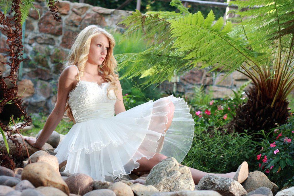 Embroidered-corset-wedding-reception-dress-with-tiered-skirt.full
