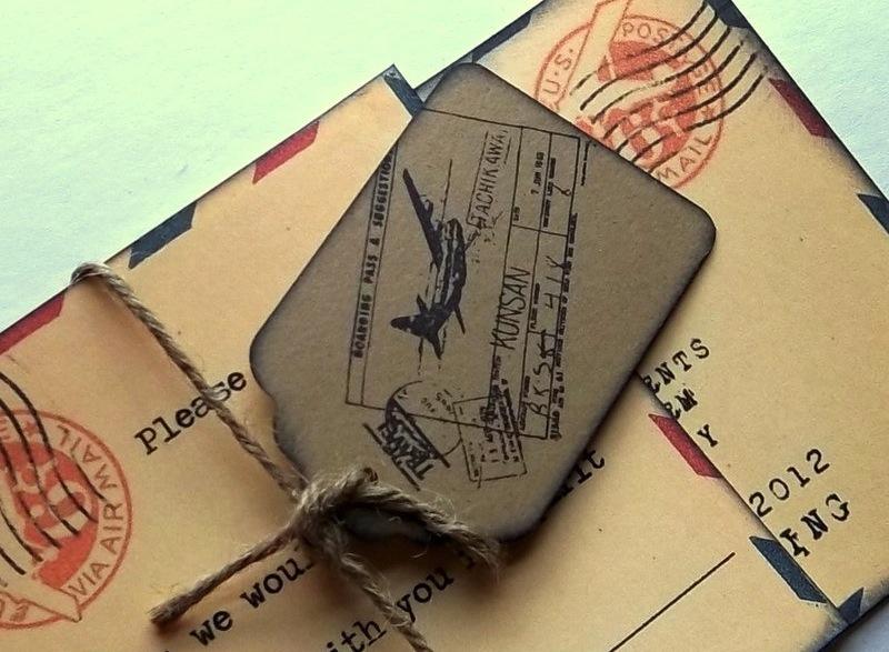 Vintage-postcard-wedding-save-the-date-passport-style.full