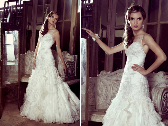 Elizabeth Stocktenstrom Wedding Dress 2013 Bridal 10