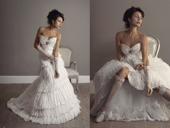 Elizabeth Stocktenstrom Wedding Dress 2013 Bridal 2