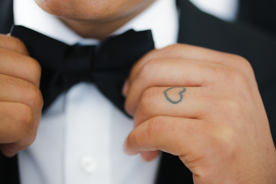 28 Awesome Wedding Band Tattoos