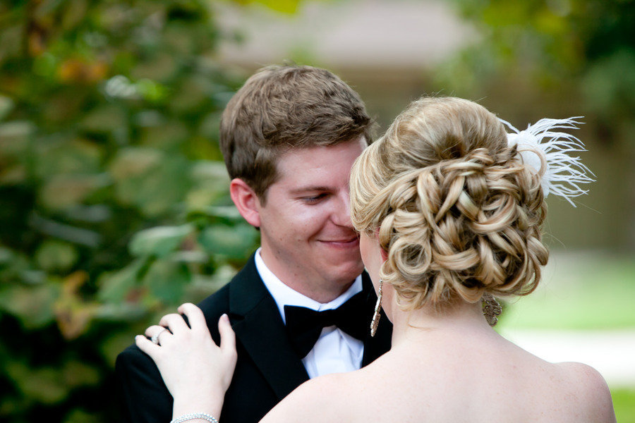 classic wedding hairstyle curly chignon. Black Bedroom Furniture Sets. Home Design Ideas