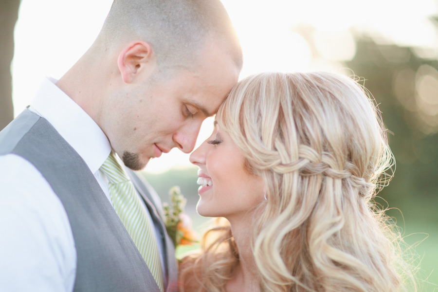 Wedding Hairstyle All Down : All down braided wedding hairstyle romantic onewed