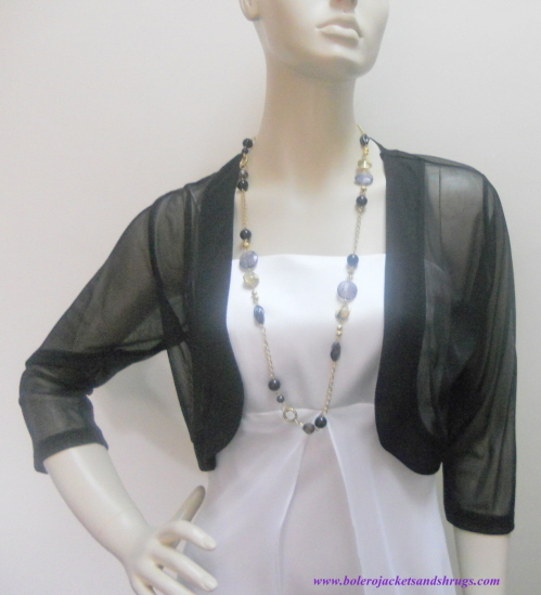 photo of Dress Bolero Jackets and  Evening Shrugs