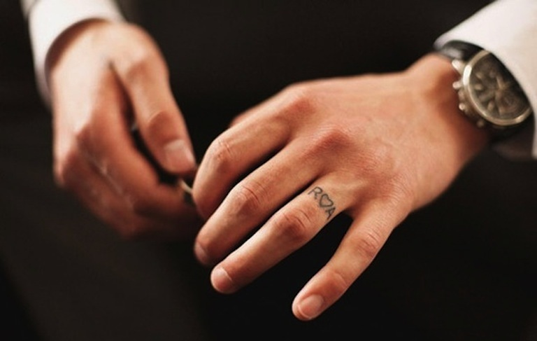 Initials-plus-heart-wedding-ring-tattoo.full