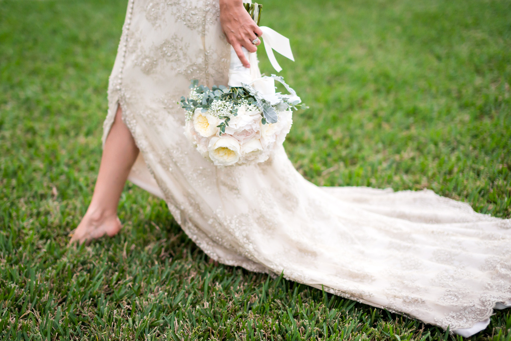 Ivory-beaded-wedding-dress-with-peony-bouquet.full
