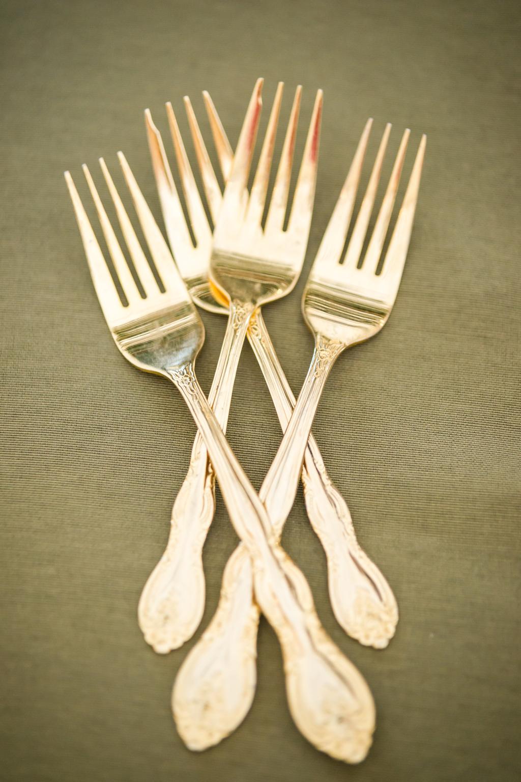 Gold-forks-for-vintage-wedding-reception.full