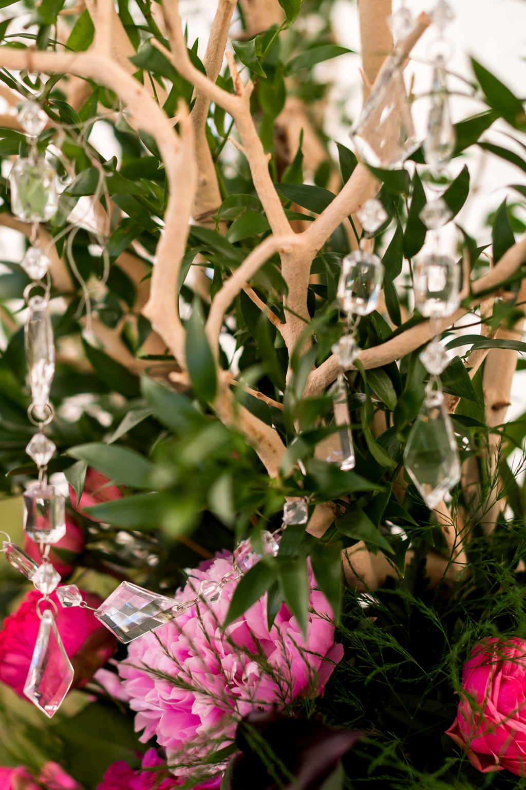 Branchy-wedding-centerpiece-hot-pink-and-green.full