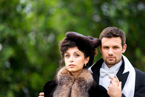 photo of Anna Karenina Wedding Inspiration