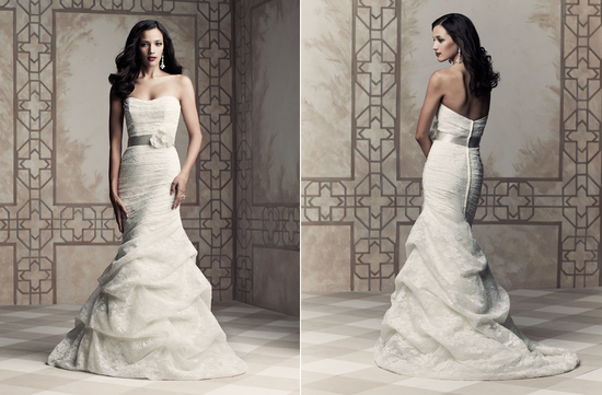Wedding dress by Paloma Blanca 2013 Bridal Premier Collection 4365