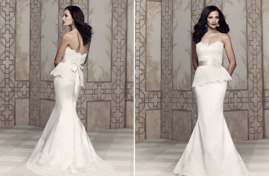 Wedding dress by Paloma Blanca 2013 Bridal Premier Collection 4362