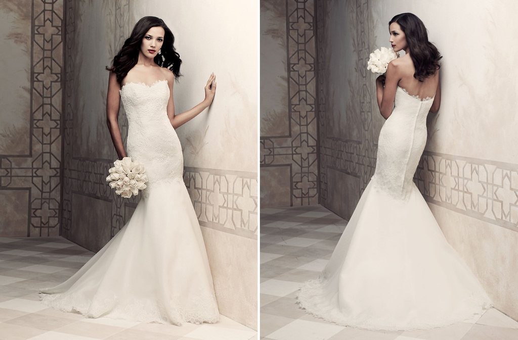 Wedding dress by Paloma Blanca 2013 Bridal Premier Collection 4358
