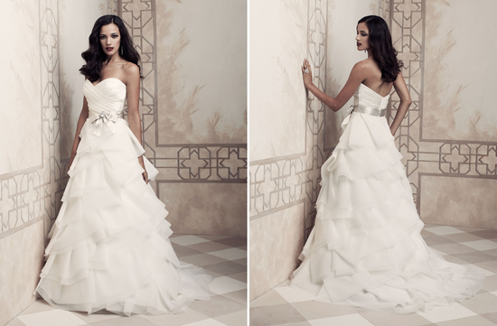 Wedding dress by Paloma Blanca 2013 Bridal Premier Collection 4357