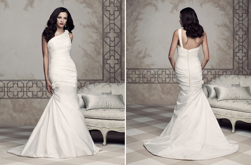 Wedding dress by Paloma Blanca 2013 Bridal Premier Collection 4353