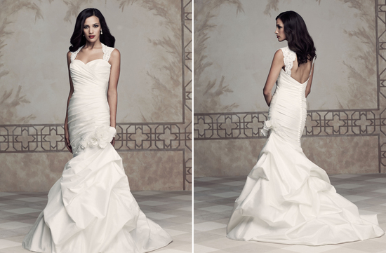 Wedding dress by Paloma Blanca 2013 Bridal Premier Collection 4354