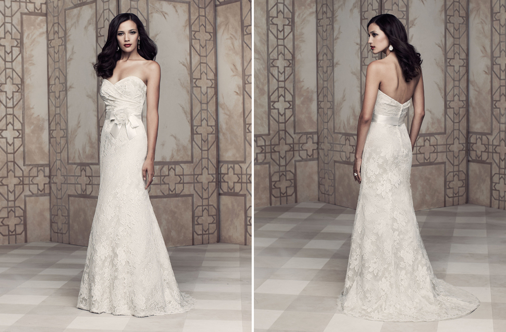 Wedding dress by Paloma Blanca 2013 Bridal Premier Collection 4355