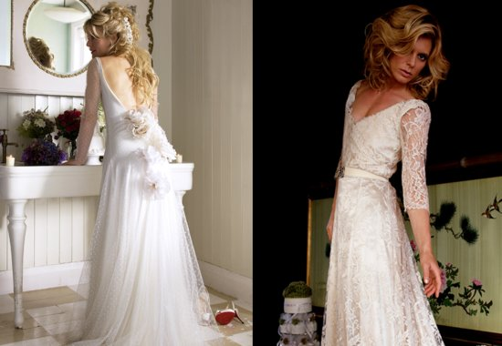 Vintage inspired wedding dresses Halfpenny London 1