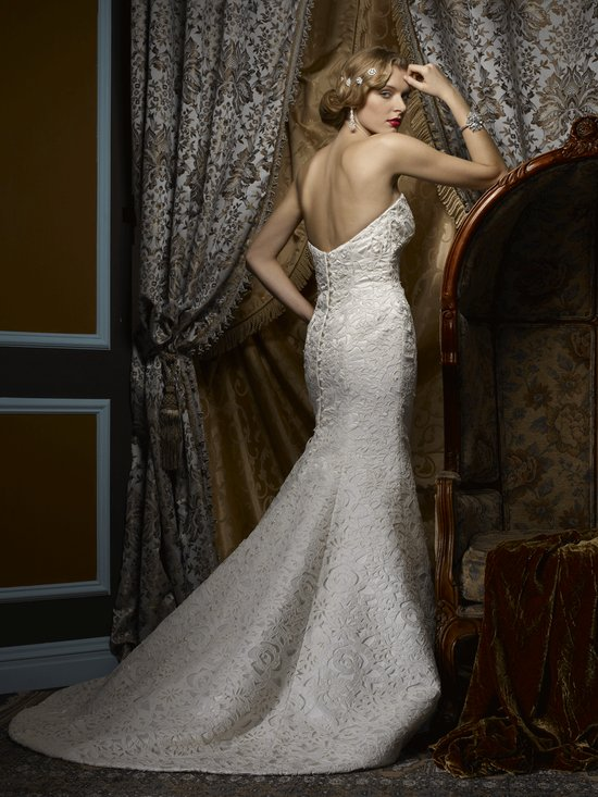 Wedding dress by Birnbaum and Bullock 2013 Bridal Astrid