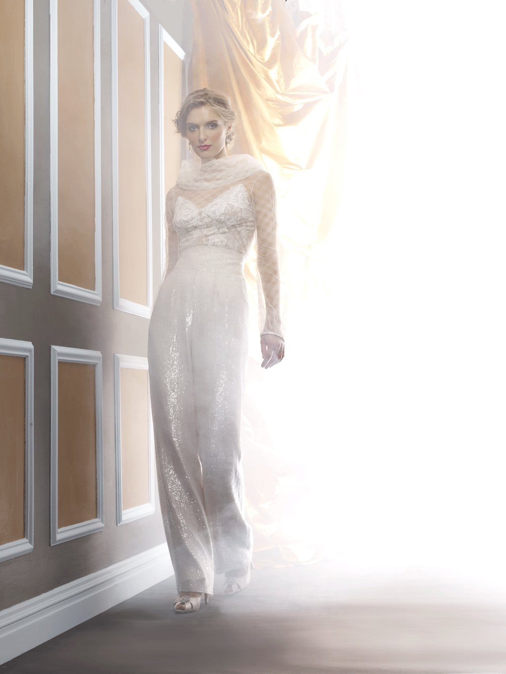 Wedding dress by Birnbaum and Bullock 2013 Bridal Liza