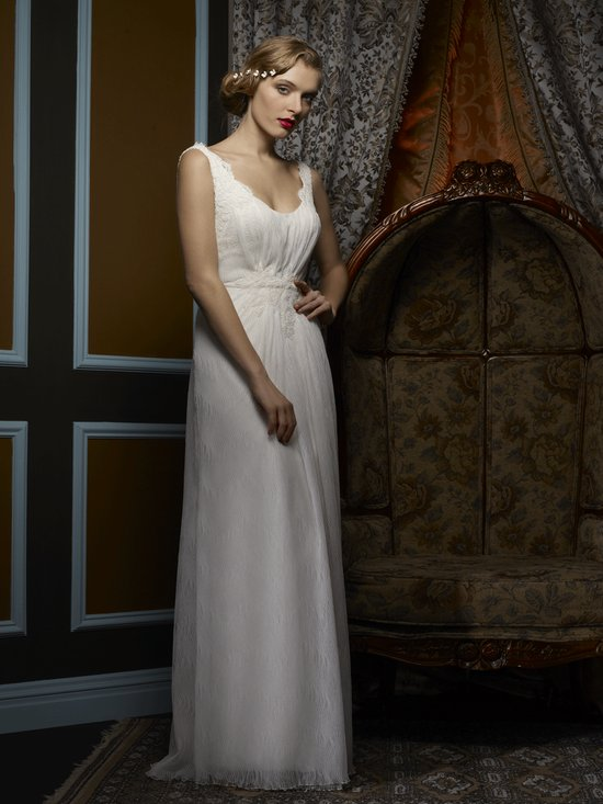 Wedding dress by Birnbaum and Bullock 2013 Bridal Petra