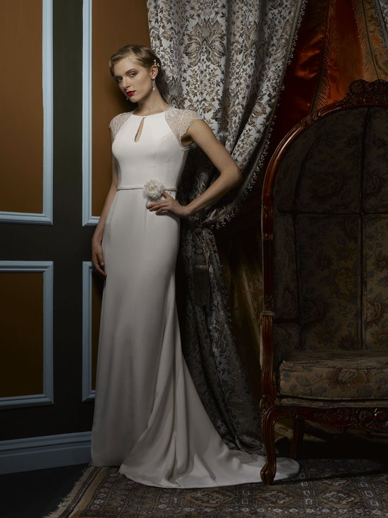 Wedding dress by Birnbaum and Bullock 2013 Bridal Sonia
