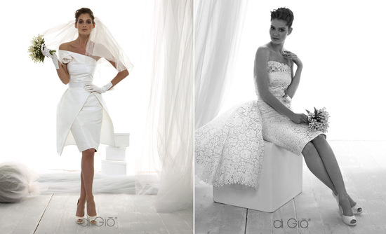 Little white wedding dress 2013 bridal Spose di Gio 1