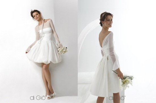 Little white wedding dress 2013 bridal Spose di Gio 2
