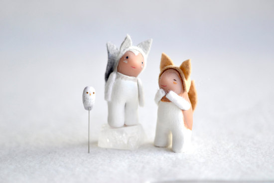 Cute narhwal wedding cake topper