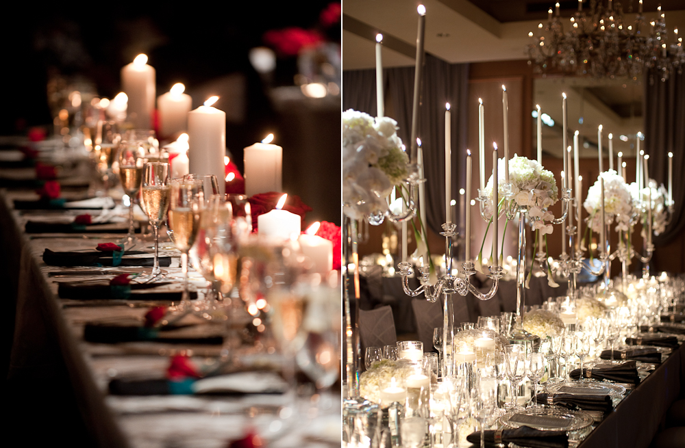 candles for wedding decor reception ideas 1