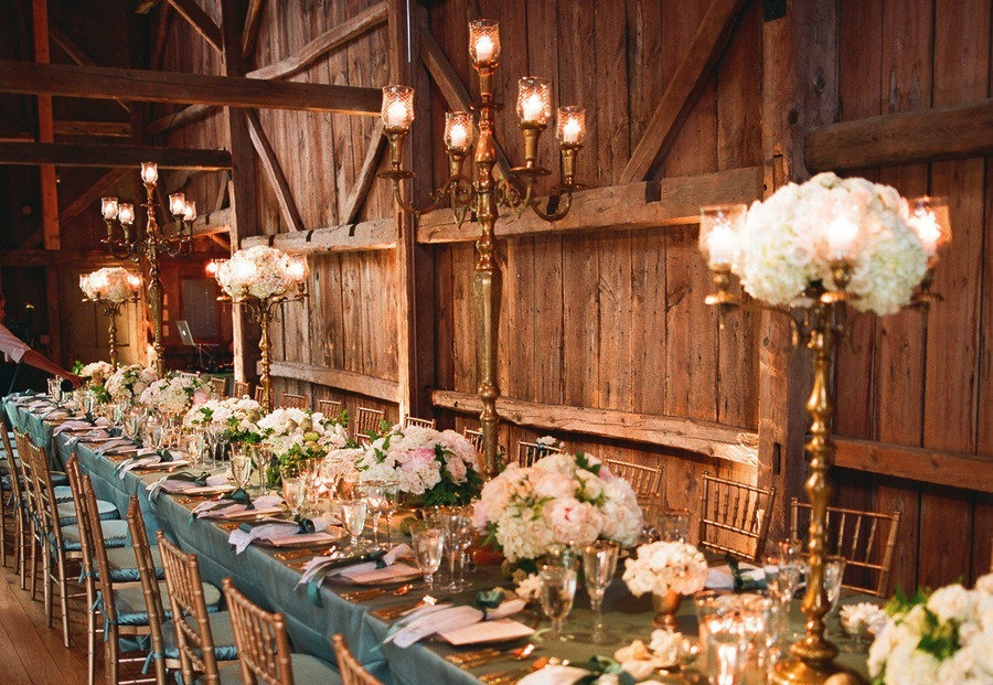 Rustic Elegance Wedding Reception Venue And Decor Onewed Com