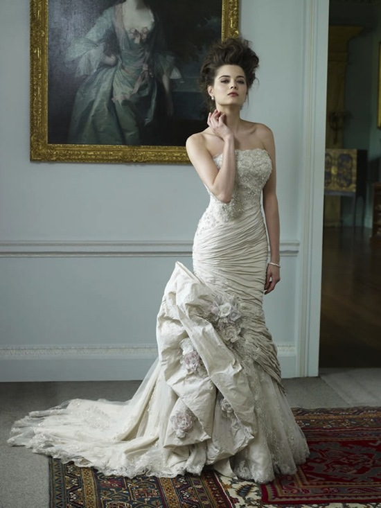 2013 Wedding Dress Ian Stuart Bridal Chevallier