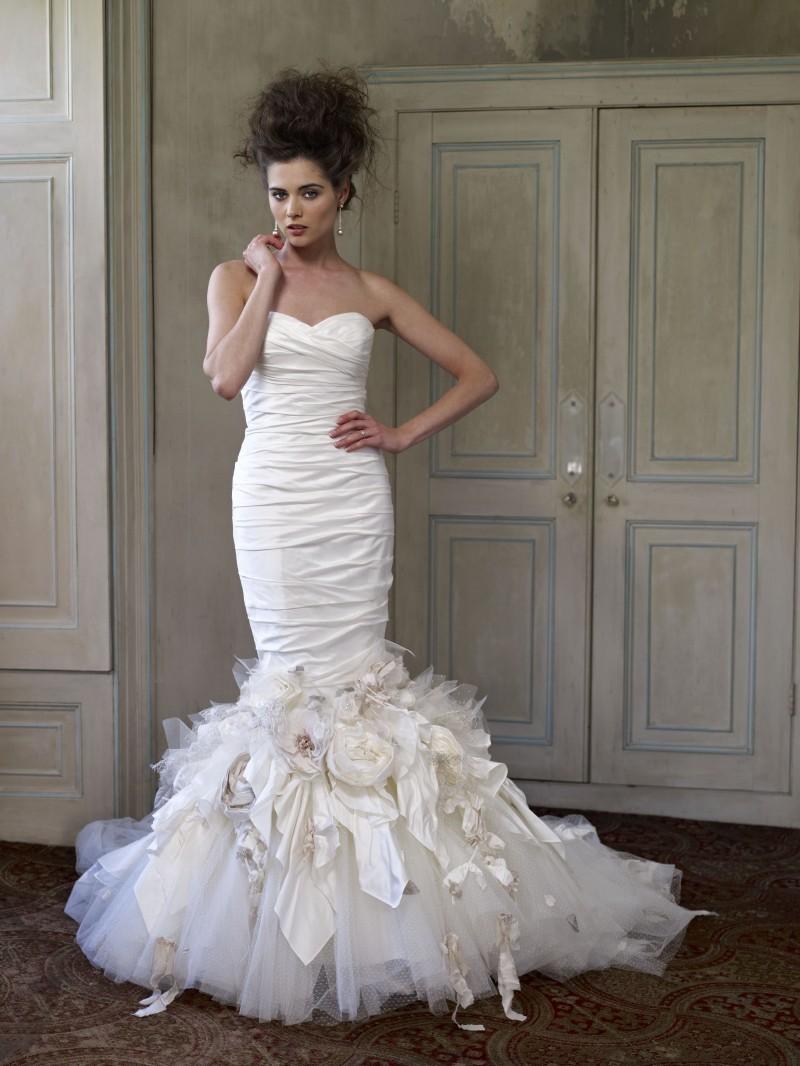 2013 Wedding Dress Ian Stuart Bridal Vauderville,Non Traditional Wedding Dresses 2020
