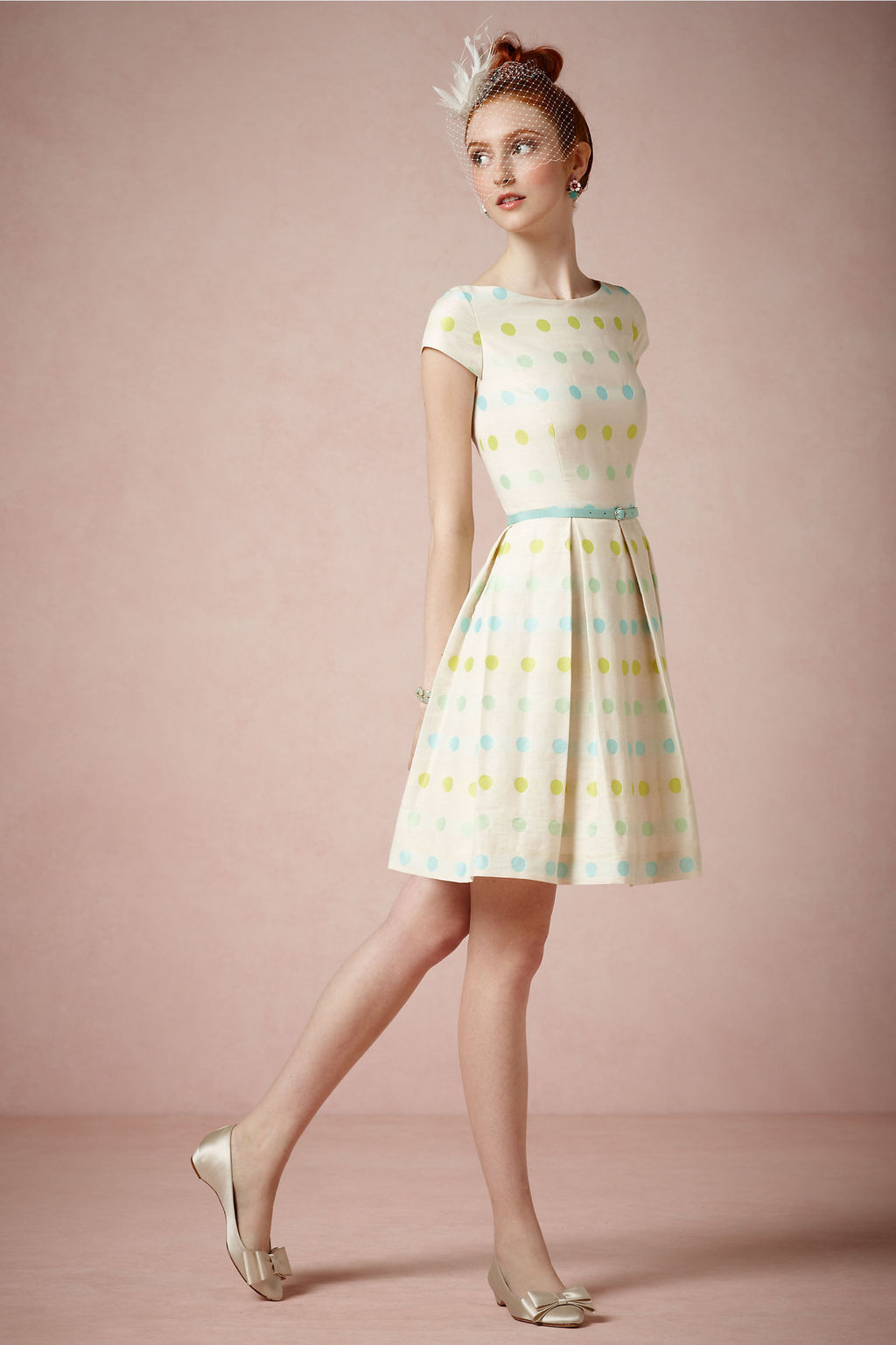 Retro-inspired-polka-dot-bridesmaid-dress.full