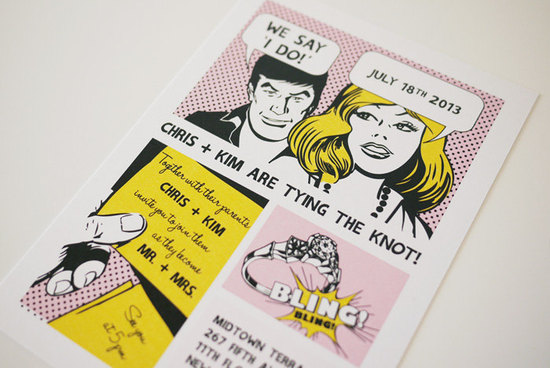Comic-strip-wedding-save-the-date