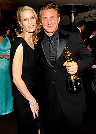 Sean Penn at the Oscars