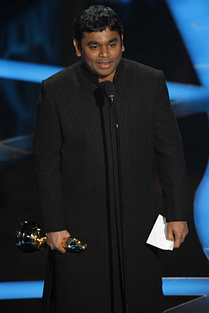 A. R. Rahman at the Oscars