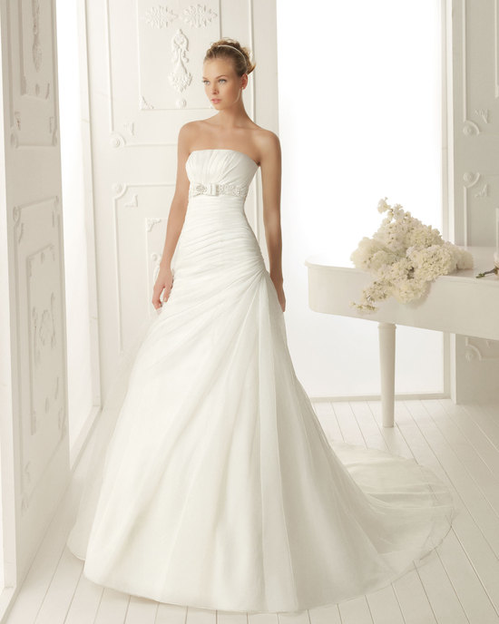 Aire Barcelona Wedding Dress 2013 Vintage Bridal Collection Vanity