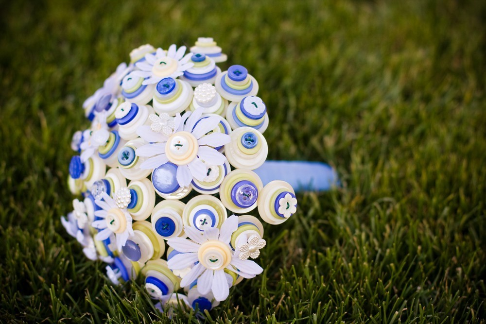 Blue-yellow-and-white-button-wedding-bouquet.full