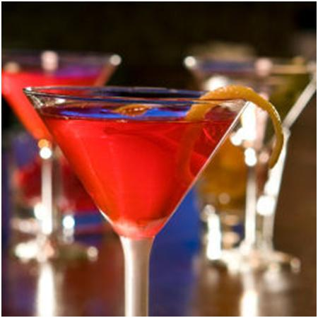 photo of Hostess With The Mostess: Pomegranate Martini
