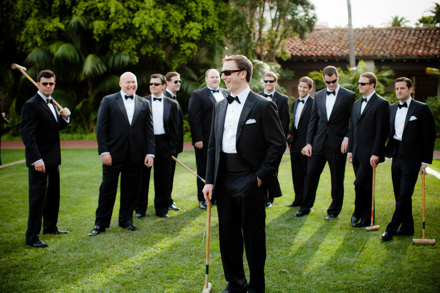 Stylish Grooms Attire Real Wedding Photos 3