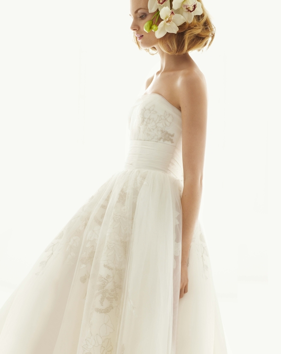 2013 wedding dress Melissa Sweet for Davids Bridal 3857