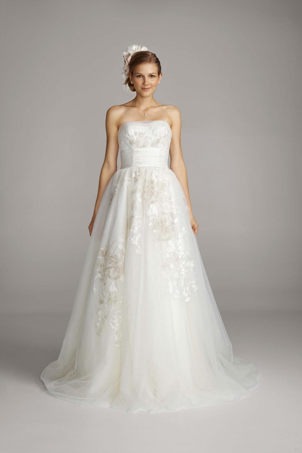 2013 wedding dress melissa sweet for davids bridal 0877 for Davids bridal cheap wedding dresses