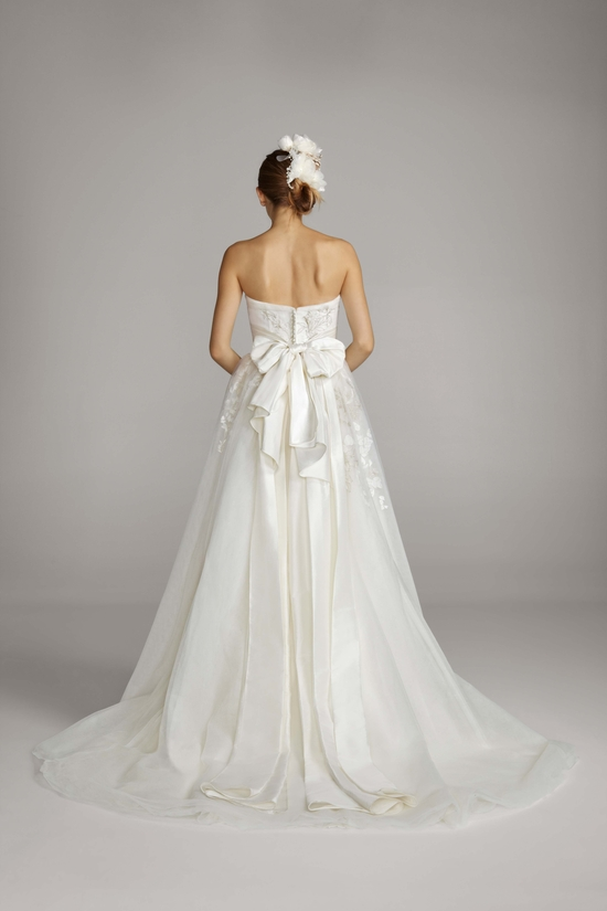 2013 wedding dress Melissa Sweet for Davids Bridal 0877